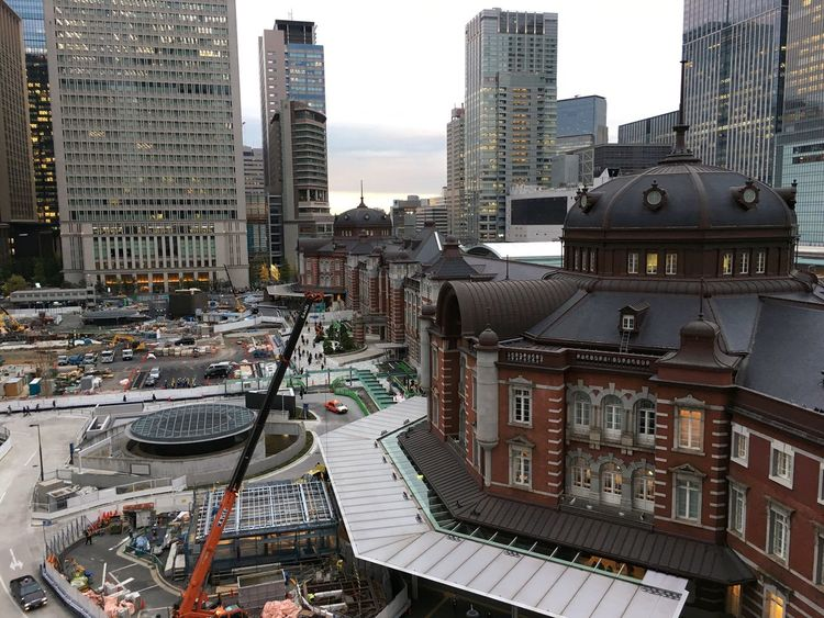 Building Exterior Architecture Built Structure City Outdoors Day Cityscape No People Sky Tokyo Station Japan IPhoneography
