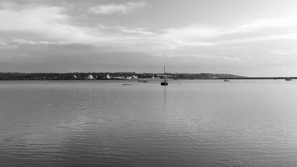 Atmosphere Bnw_captures Bnw_collection Bnw_friday_eyeemchallenge Boat Calm Eye Em Best Shots -Black +White Eye4photography  EyeEm Best Shots EyeEm Gallery EyeEmBestPics Land And Sea Malephotographerofthemonth Nautical Vessel Sea Showcase: February Tranquil Scene Water Waterfront