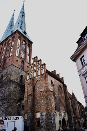 Building Exterior Architecture Travel Destinations City History No People Sky Outdoors Clock Tower Day Berlin Germany Traveling Travel Like4like Tagsforlikes Religion Followforfollow