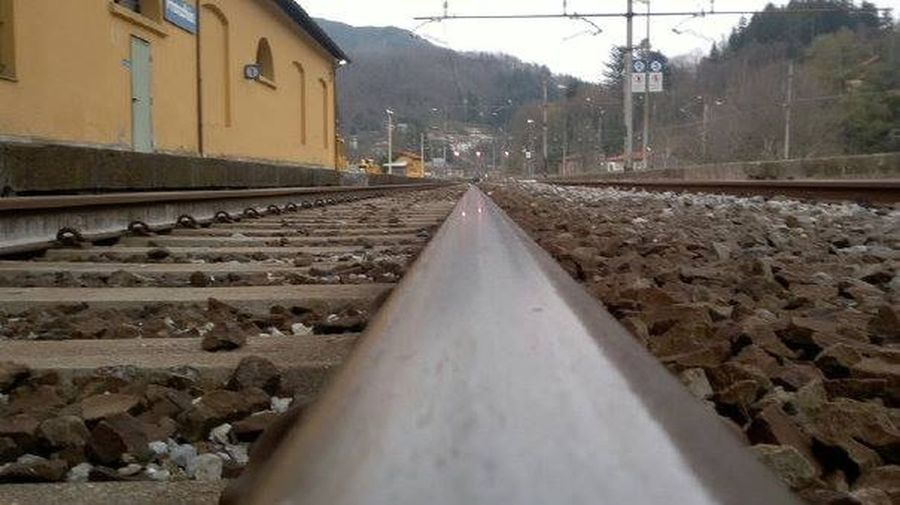 Railroad Track Railwaystation No People Transportation Destination Nowhere