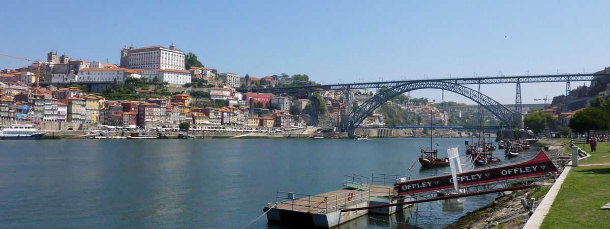 Perspectives from Porto. Built Structure Architecture Water Building Exterior Transportation Nautical Vessel Sky City Connection Nature Mode Of Transportation Day River Bridge Waterfront Building Bridge - Man Made Structure Clear Sky No People Outdoors Passenger Craft Arch Bridge Nature Nature_collection Nature Photography