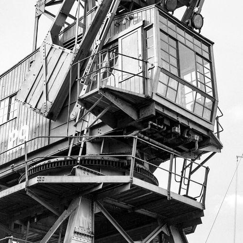 Bristol Construction Crane Crane - Construction Machinery Cranes Cranes And Construction Dock Docks Dockside Harbour Harbour View Harbourside Historic History History Through The Lens  Industry Legs Metal Patterns Shape Structure Windows