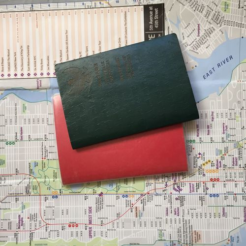 Passports on City Map City Map Exploring Holiday Immigration New York New York City Passport Sightseeing Traveling City Trip Destination Document Paper Travel Destinations Visa