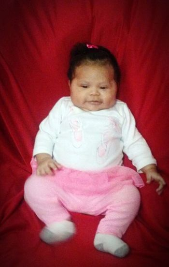 Ja'Nessa Reign Mixed Babies Mexican Puerto Rican Guatemalen African American Two Month Pic Lincoln NE