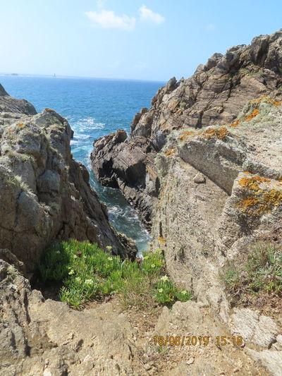 Sea Sky Rock