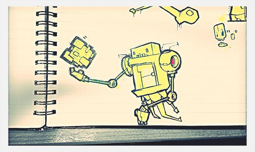Robot Gift Sketches
