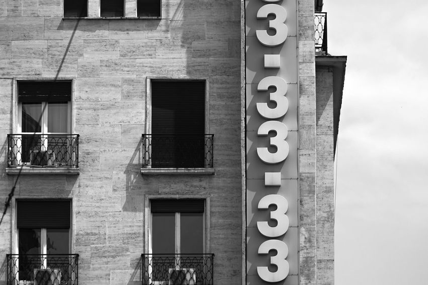 postmans horror or just numberful Architecture Building Built Structure City City Life Information Sign Number Numbers Found On The Roll Eye4photography  Monochrome Photography Welcome To Black