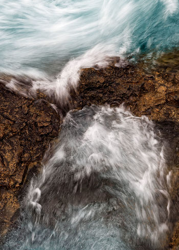 Water motion Blue Water Blue Waters Blurred Motion Long Exposure Motion Nature Nature Details Outdoors Power In Nature Water Waterfall Perspectives On Nature
