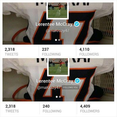 S/O Broncos  @MaKrazy47 I got him 300 new fans today! Socialmarketing