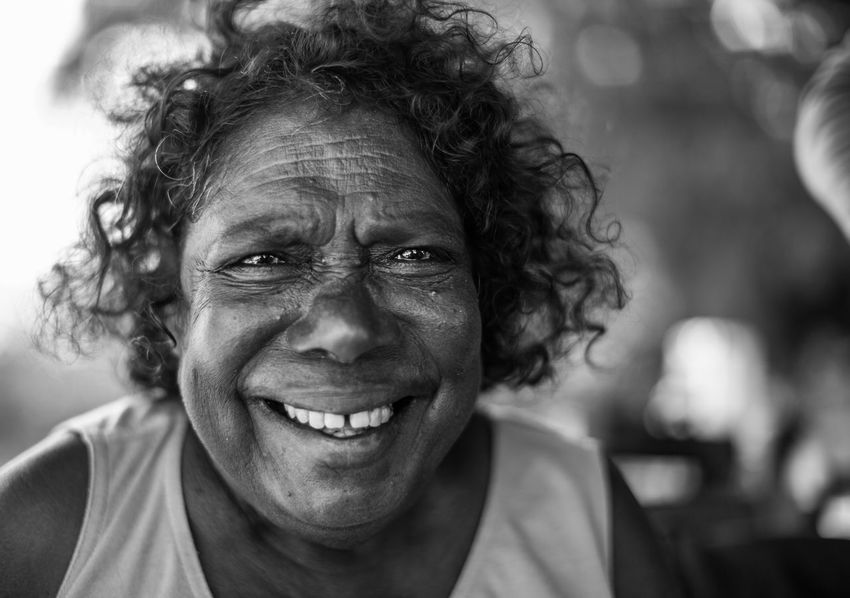 Aboriginal Australia Outback Travel Travel Photography Adult Adults Only Close-up Curly Hair Day Focus On Foreground Happiness Headshot Looking At Camera One Man Only One Person Outdoors People Portrait Real People Senior Adult Smiling Travel Destinations The Traveler - 2018 EyeEm Awards The Portraitist - 2018 EyeEm Awards