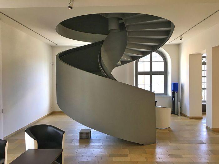 Wendeltreppe Treppe Uhrenmuseum Glashütte