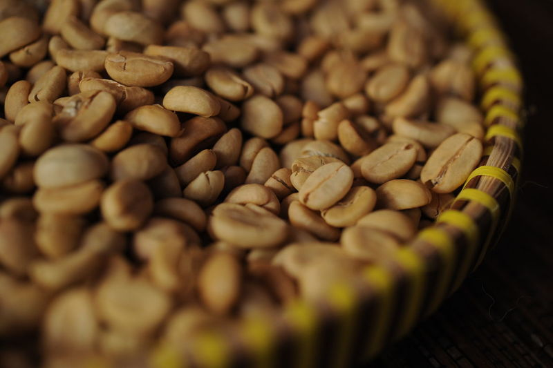 Arabica coffee bean from Flores, East Timor, Indonesia. Flores coffee is one of the best coffee in the world. Arabicacoffee Brown Close-up Coffee Bean Extreme Close-up Flores Cofee Food Food And Drink Full Frame Indoors  Large Group Of Objects No People