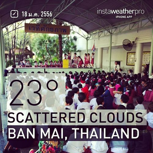 Weather Instaweather Instaweatherpro Sky Outdoors Nature Instagood Photooftheday Instamood Picoftheday Instadaily Photo Instacool Instapic Picture Pic @instaplaceapp Place Earth World Banmai Thailand Day Morning Skypainters Th