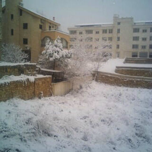 my neighborhood in mount lebanon during snow storm Wintertime Snow :) Snow Lebanon In Photos
