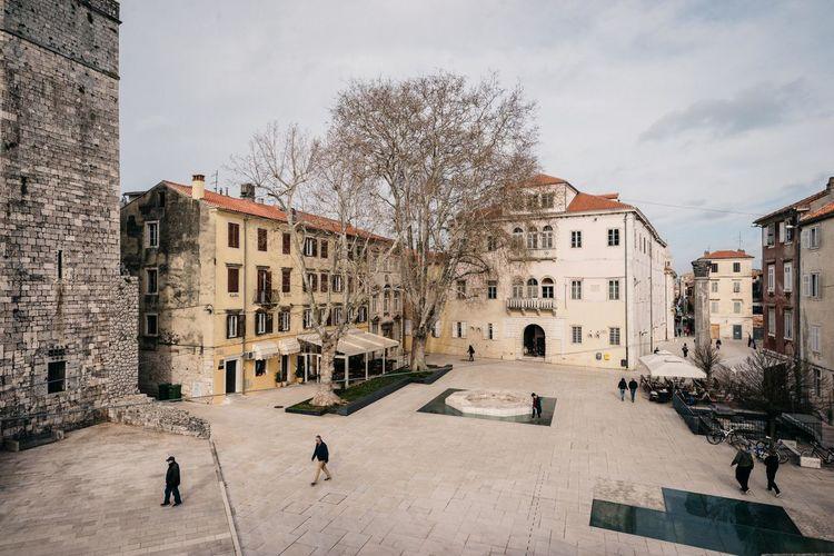 Zadar Zadar,Croatia Architecture Bare Tree Building Exterior Built Structure City Outdoors Zadar Old Town
