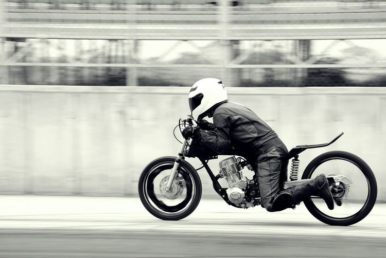 Be quick! Q Blackandwhite Photography Blackandwhite Streetphoto_bw Monochrome Motorbike Motorsport Motorcycles Motorcycle Streetphotography Capture The Moment Photography In Motion Need For Speed It's About The Journey