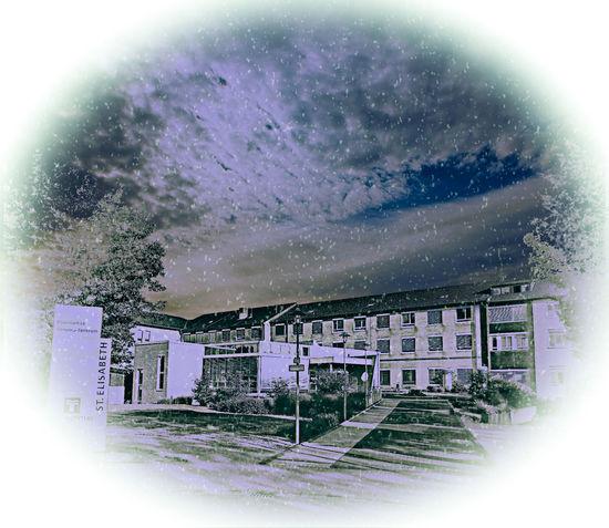 Krankenhaus in Lank-Latum Cloud - Sky Day Klinik Krankenhaus Nature No People Outdoors Sky Technology