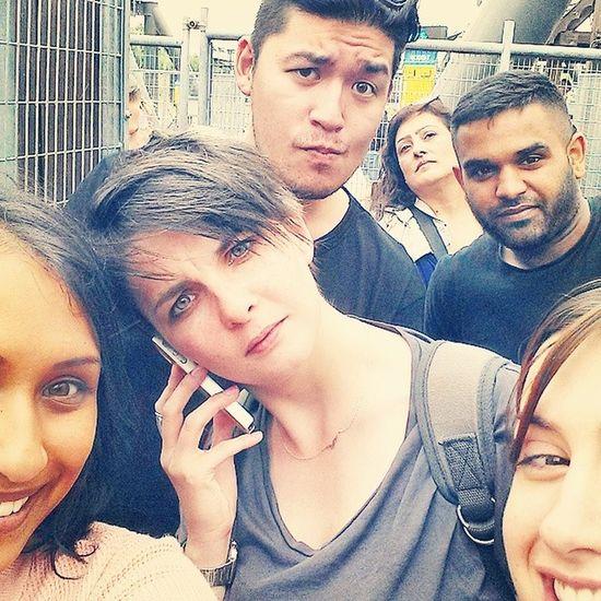 Selfie 4 Thorpepark Swarm CompanyOutting LindaFarrow Cray Selfie VainBitchs