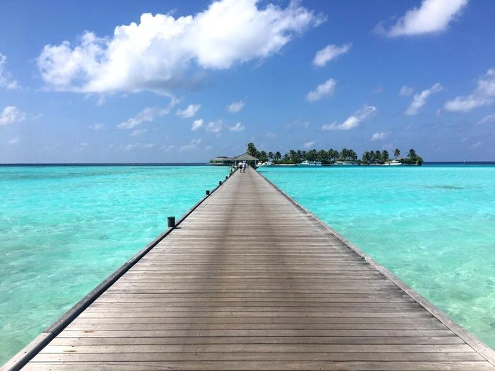 Turquoise Colored Sea Beauty In Nature Blue Maldives Travel Destinations An Eye For Travel