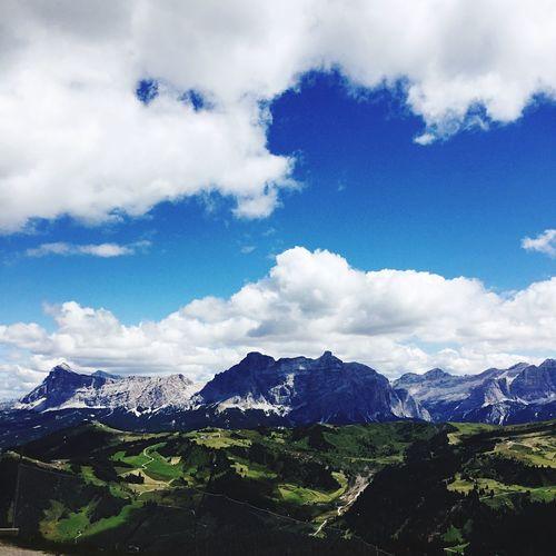 Mountain dolomiti