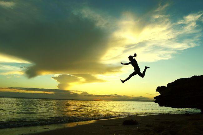 Silhouettephotography Sunset Eyeem Philippines Life Is A Beach EyeEm Nature Lover Enjoying Life That's Me