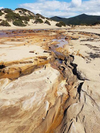 Piscinas Sand Dune Beach Desert Sand Arid Climate Mountain Sunlight Landscape