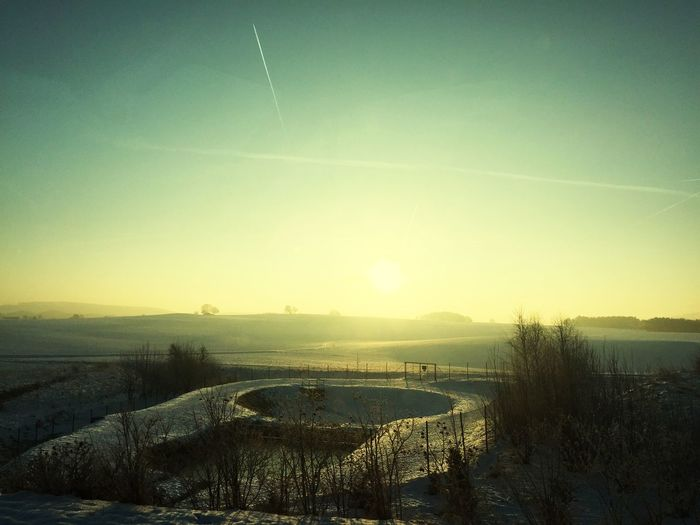 EyeEm Best Shots - Sunsets + Sunrise Early In The Morning Winter Ice