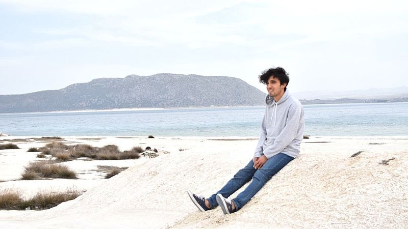 Me 😊 Lake Salda Lake Nature Turkey Nature_collection Eyem Gallery Beauty In Nature Blue White Color New Full Length Water Beach Sea Sand Portrait Relaxation Men Sitting Jeans Joint - Body Part Cramp Sweater Moving Around Rome Modern Workplace Culture Stories From The City California Dreamin Inner Power Go Higher EyeEmNewHere This Is Queer