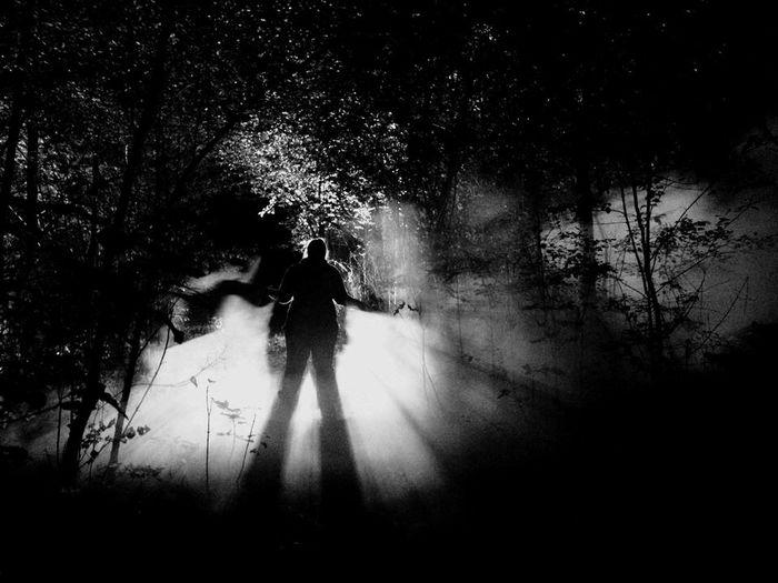 Shooting night scenes is always a blast Nightphotography Nightlife Sihouette  Light And Shadow Real People Night Lighting Throwback Filmschooldays
