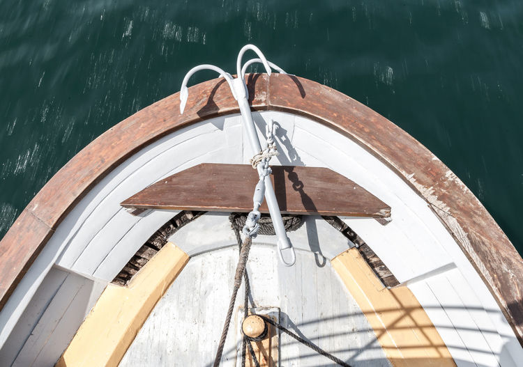 Nautical Vessel Water Mode Of Transportation No People Transportation Nature Day Wood - Material Moored High Angle View Outdoors Metal Travel Rope Lake Sailing Absence Architecture Sailboat Steel