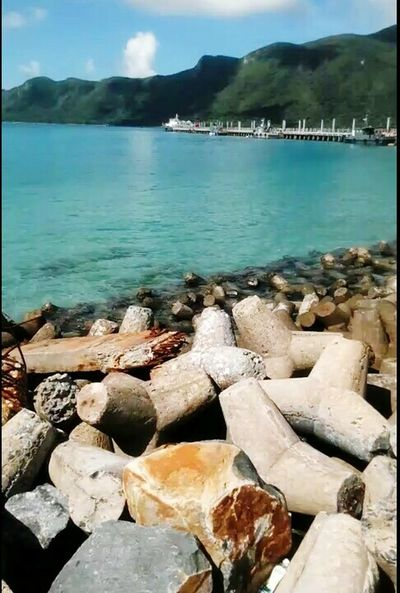 Côn Đảo Sea Sea And Sky Water Beach Water Rock - Object Sea Beach Nature Tranquility Tranquil Scene
