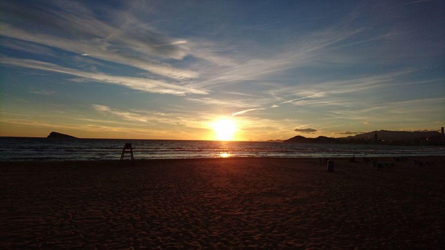 Watching the Sunset starting 2 kick in @Benidorm