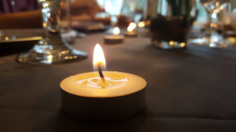 Hanging Out Relaxing Candle Indoors  Close-up Enjoying Life Ribo