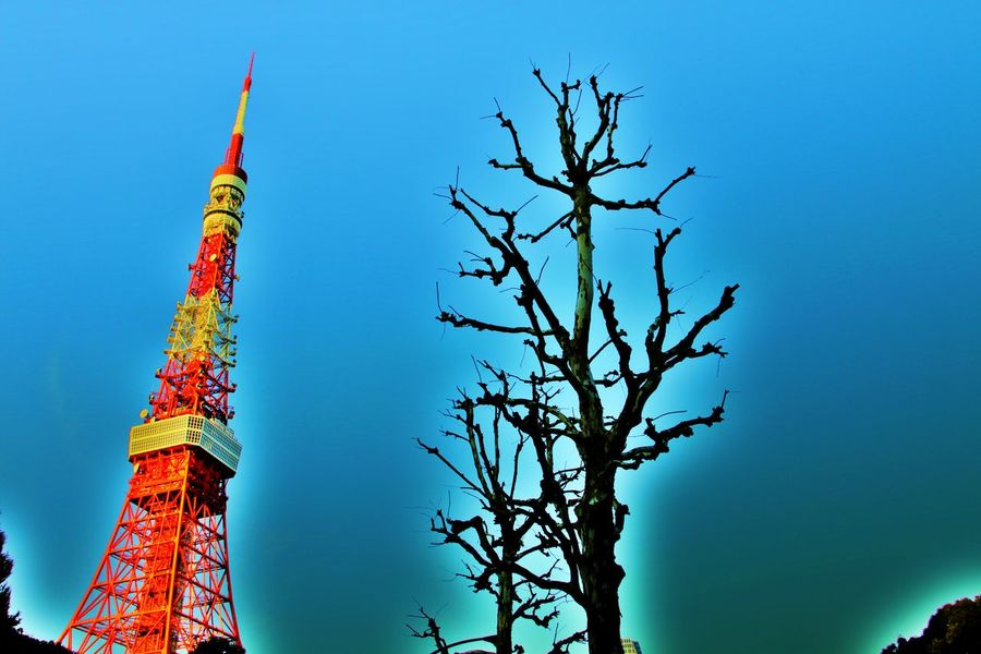 Tokyo Tower,Japan Canon EOS 7D Mark II Clouds And Sky EyeEm Best Shots Japan Japan Photography Japanese Culture Low Angle View Outdoors Photostock Symbol Taking Photos Tokyo Tokyo Tower Tokyo,Japan Tower Wintertime