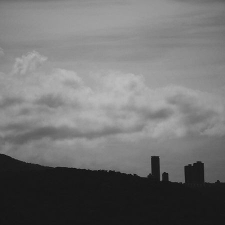 Canon Test Sky Cloud Mointain View Tamshui VSCO Vscocam Blackandwhite Morning