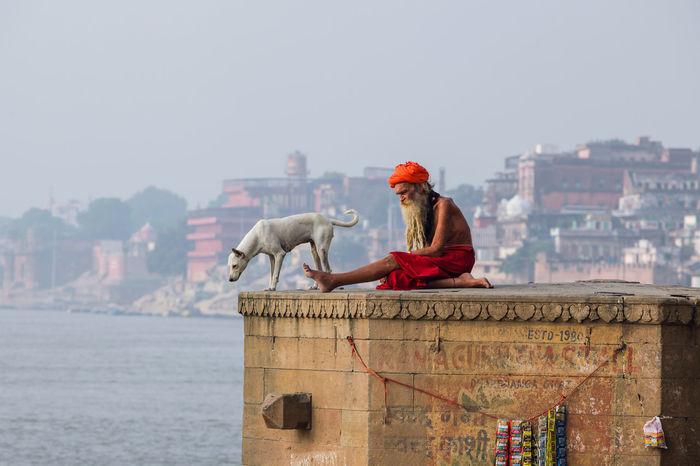 Banaras Benares Famous Place Ganges River Ghat Ghats Of Varanasi Ghats On The Ganges Holy Place India Sadhu The Street Photographer - 2016 EyeEm Awards Tourism Travel Travel Photography UttarPradesh Varanasi People And Places