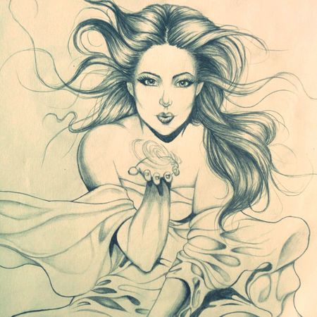One of my favs Wind Blown Girl Beauty