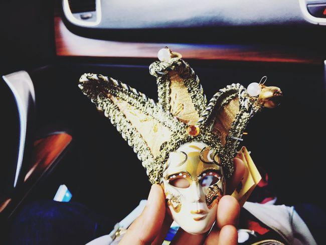 TheMask Themasksinger Venice Mask - Disguise Venetian Mask Carnival Leisure Activity Suvenir Suvenior Shop