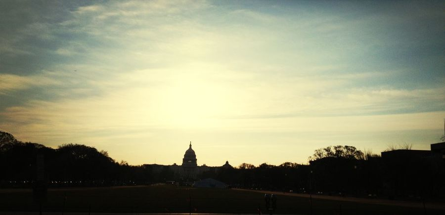 Dramatic Skies Capitol Building