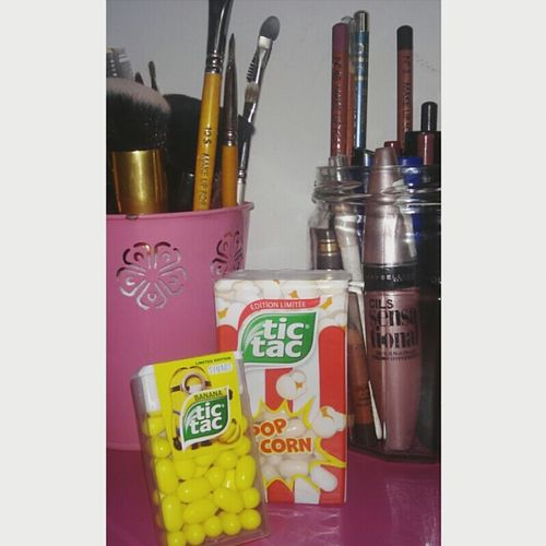 Tictacminions Tictacpopcorn Tictac Popcorn Brushes Makeup Muf Cilsensationnal Taking Photos Hi!