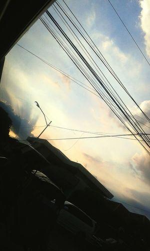 Shadows Sky Rays Life
