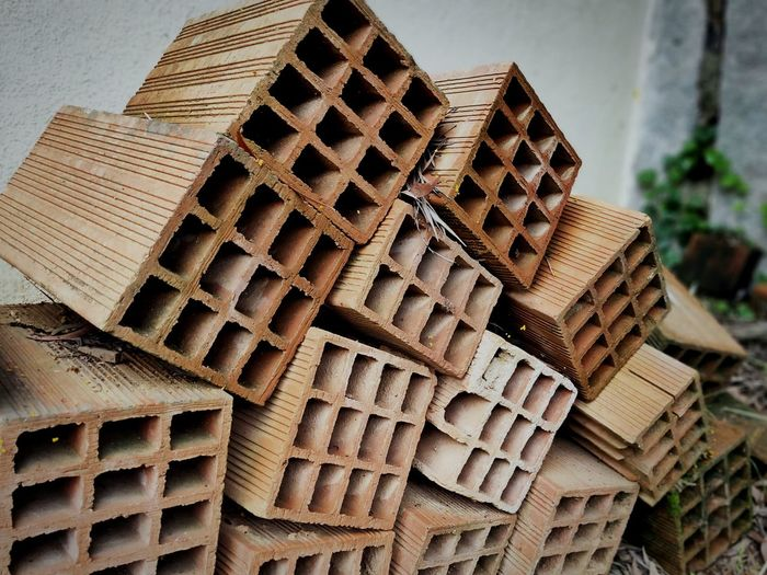Hollow bricks - construction material