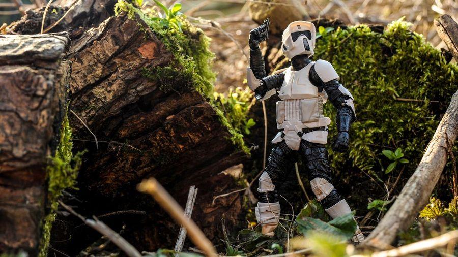 Scout Starwarstoys Starwarstheblackseries Starwars Starwarsfigures Stormtrooper Toy Photography Endor Returnofthejedi Scouttrooper Star Wars