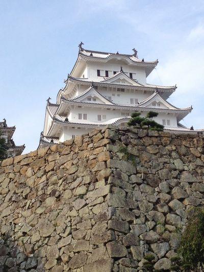 Himeji Castle Japanese Castle Japanese Architecture Japanese Style History Hello World EyeEm Gallery Japan Photography Cellphone Photography Japan Hyogo Himeji EyeEm Japanese Culture Architecture Location Stone Wall Showcase July