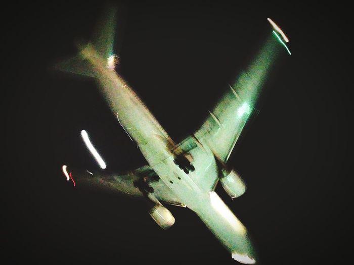 Under Plane
