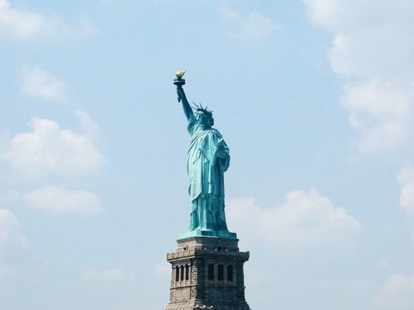 NY NYC Photography Liberty Statue Outdoors Sky Statue Travel Travel Destinations