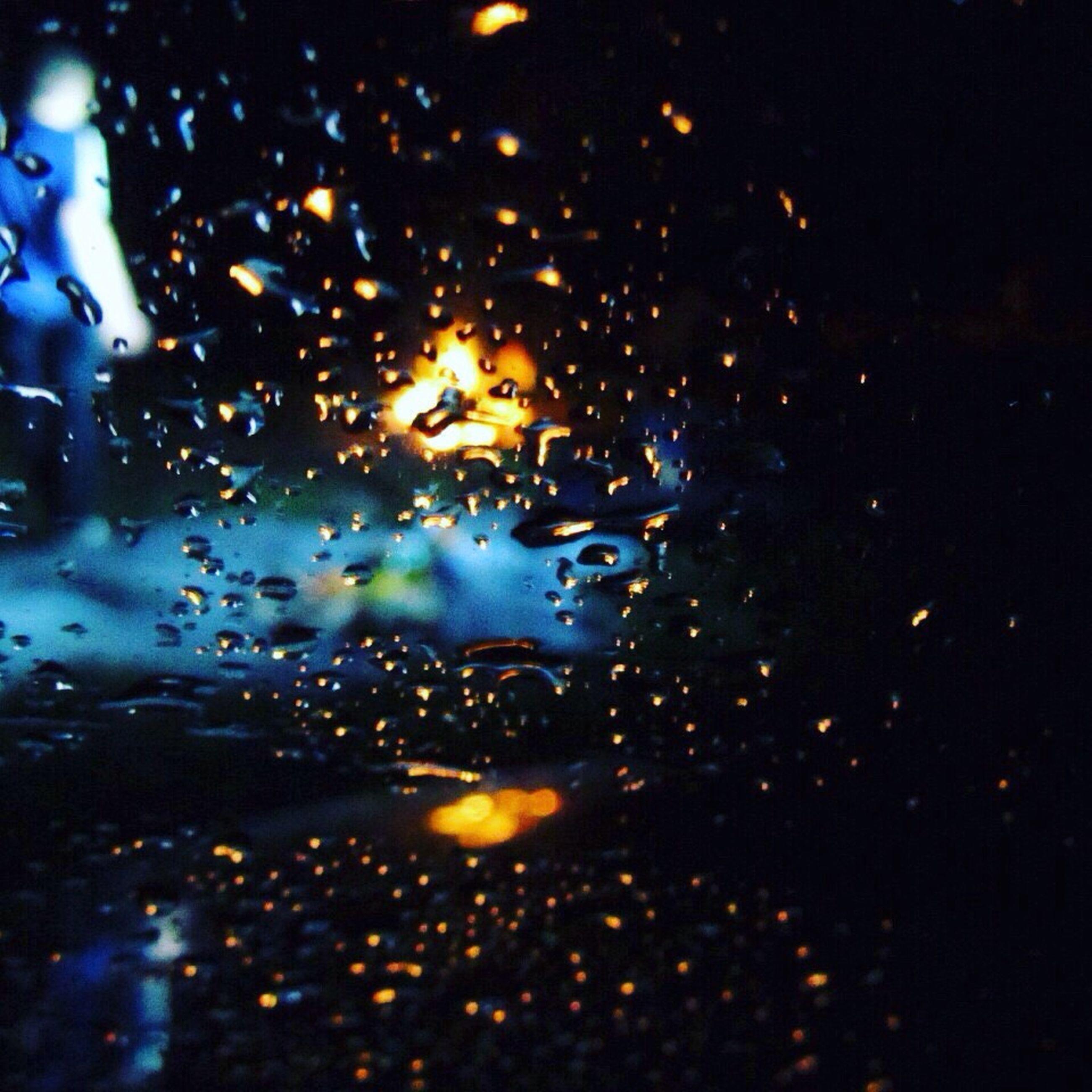 wet, drop, rain, water, window, transparent, raindrop, glass - material, full frame, weather, backgrounds, indoors, season, night, sky, illuminated, glass, car, monsoon, no people