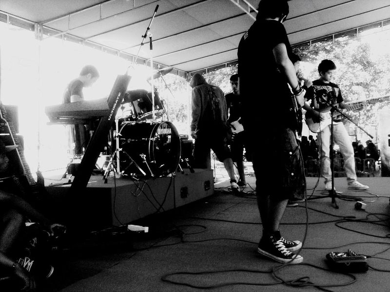 My band Band Onthestage Rock Rock'n'Roll Livestyle Desember