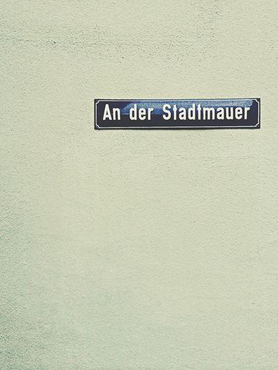 An der Stadtmauer, 2014. Stadtmauer Durlach Karlsruhe Wall
