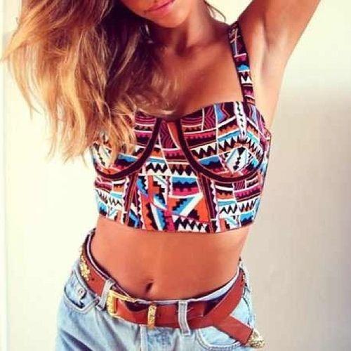 Aztecshirt Shorts Belt  Blondehair brownhair